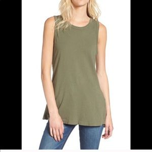Current/Elliott muscle tee, size 1,new